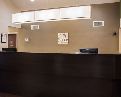 Front desk | Sleep Inn & Suites Edgewood Near Aberdeen Proving Grounds