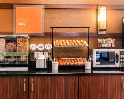 Assorted breakfast items | Comfort Inn & Suites and Conference Center