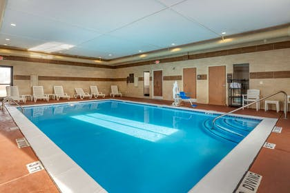 Relax by the pool | Comfort Suites Auburn Hills