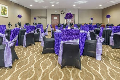 Large space for receptions, parties, anniversaries, and business | Comfort Suites