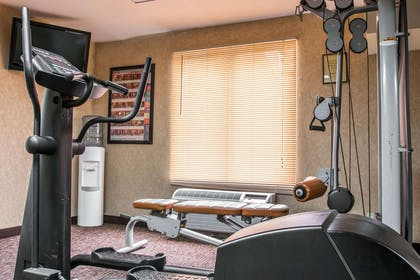 Exercise room with television | Quality Inn