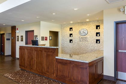 Front desk | Comfort Suites and Conference Center