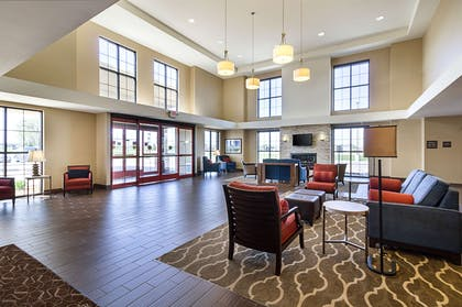 Spacious hotel lobby | Comfort Suites and Conference Center