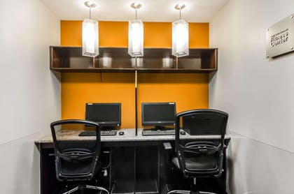 Business center with free wireless Internet access   Quality Suites St. Joseph