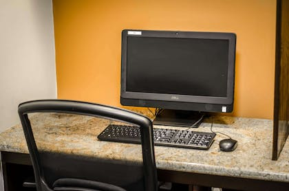 Business center with high-speed Internet access   Quality Suites St. Joseph
