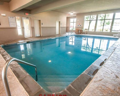 Indoor heated pool | Sleep Inn & Suites Lake of the Ozarks