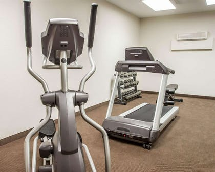Exercise room with cardio equipment | Sleep Inn & Suites Lake of the Ozarks