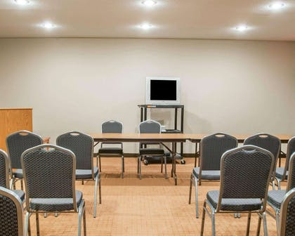 Meeting room with classroom-style setup | Sleep Inn & Suites Lake of the Ozarks