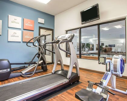 Fitness center | Comfort Suites Jefferson City