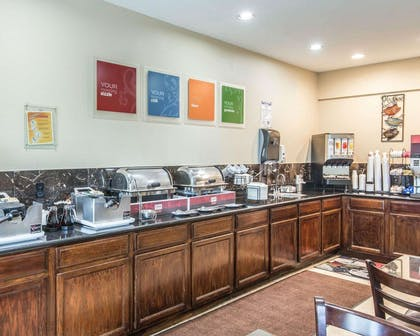 Assorted breakfast items | Comfort Inn & Suites Kansas City Downtown