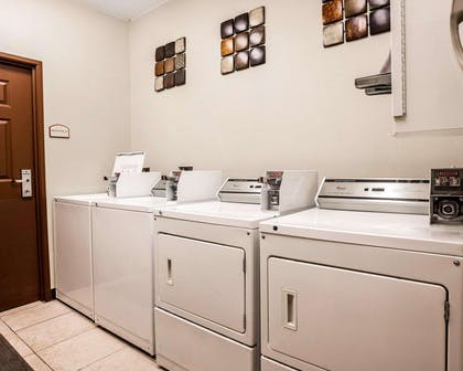 Guest laundry facilities | Comfort Suites Independence - Kansas City