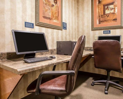Business center with free wireless Internet access | MainStay Suites St. Robert - Fort Leonard Wood