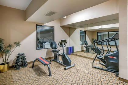 Exercise room | Quality Inn & Suites Jefferson City