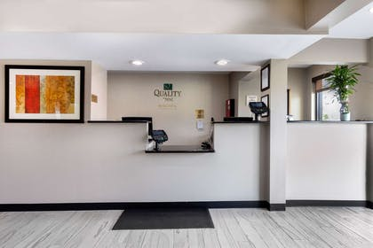Front desk with friendly staff | Quality Inn