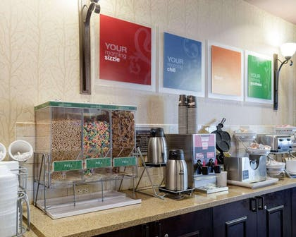 Assorted breakfast items | Comfort Suites Starkville