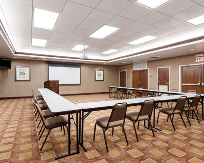 Meeting room with u-shaped setup | Comfort Suites Olive Branch West