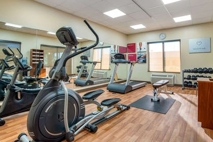 Exercise room | Comfort Suites Gulfport