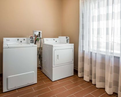 Guest laundry facilities | Mainstay Suites Meridian