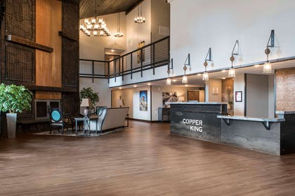 Hotel lobby | Copper King Convention Center, Ascend Hotel Collection