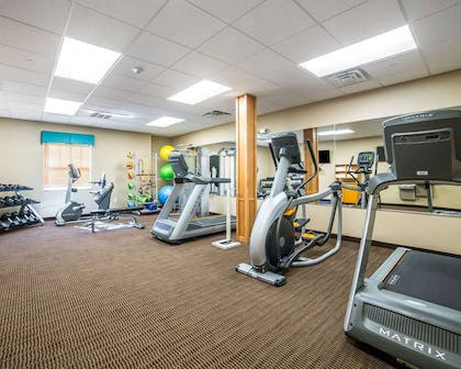 Fitness center | Mainstay Suites Sidney