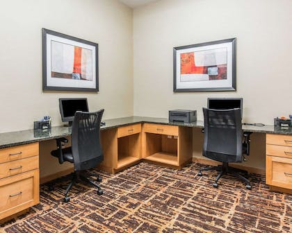 Business center | Mainstay Suites Sidney