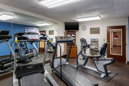 Fitness center | Comfort Suites Hanes Mall