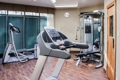 Exercise room with cardio equipment | Comfort Suites Raleigh Durham Airport/Research Triangle Park