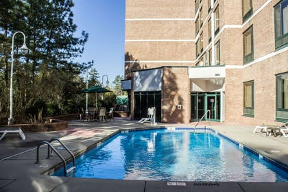 Outdoor pool | Comfort Suites Raleigh Durham Airport/Research Triangle Park