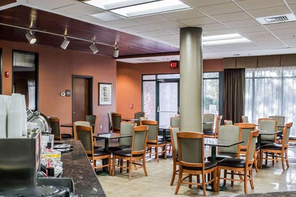 Enjoy breakfast in this seating area | Comfort Suites Raleigh Durham Airport/Research Triangle Park