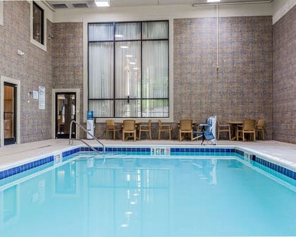 Indoor pool | Comfort Suites Boone - University Area