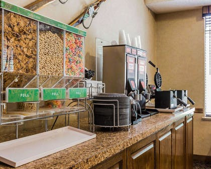 Breakfast counter | Comfort Suites Boone - University Area