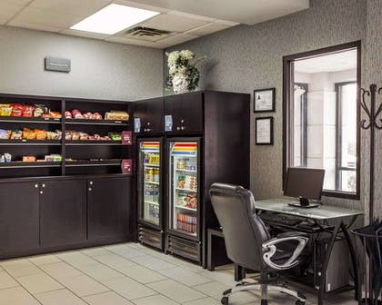 Business center with high-speed Internet access   Comfort Suites Lumberton