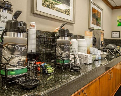 Hot and cold breakfast buffet   Quality Inn & Suites Biltmore East