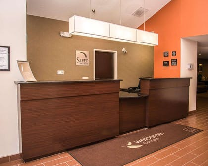 Front desk | Sleep Inn & Suites at Concord Mills