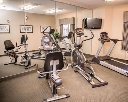 Fitness center | Sleep Inn & Suites at Concord Mills