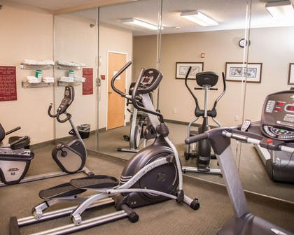 Fitness center with cardio equipment | Sleep Inn & Suites at Concord Mills