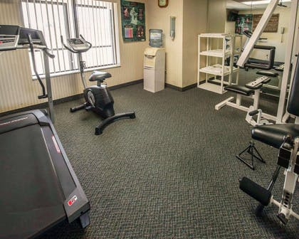 Fitness center with cardio equipment and weights | Comfort Inn & Suites Morganton