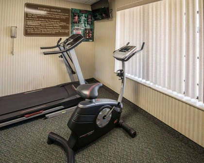 Fitness center with television | Comfort Inn & Suites Morganton
