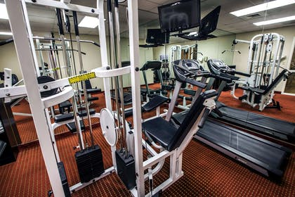 Fitness center | Mainstay Suites Wilmington