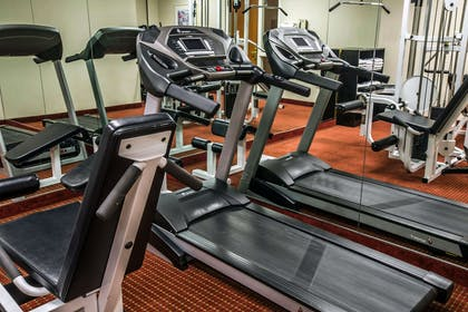 Fitness center with cardio equipment | Mainstay Suites Wilmington