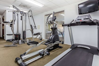 Exercise room   Quality Suites Pineville - Charlotte