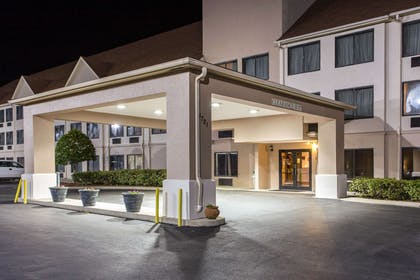Exterior at night   Comfort Suites Wilmington near Downtown
