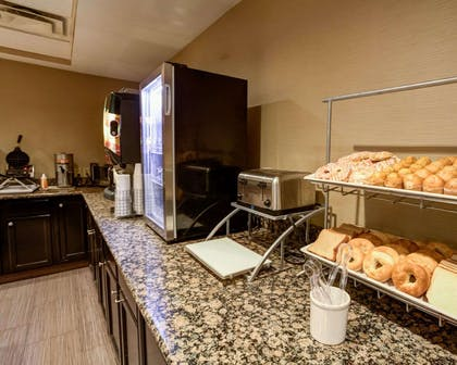 Assorted breakfast items | Comfort Suites Airport