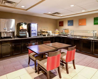 Breakfast counter | Comfort Suites Airport