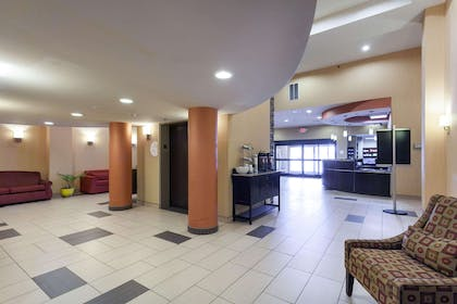 Lobby with sitting area | Comfort Inn & Suites Statesville - Mooresville