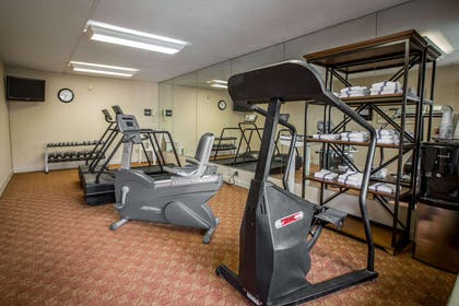 Exercise room   Quality Inn & Suites Hanes Mall