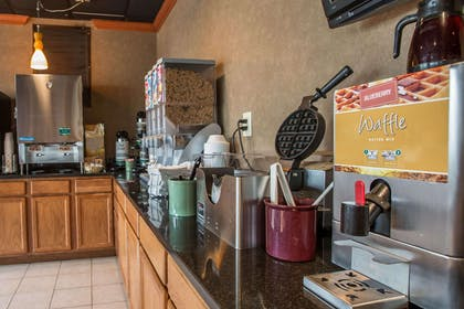 Free breakfast with waffles   Quality Inn & Suites Hanes Mall
