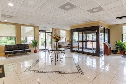 Lobby with sitting area   Quality Inn & Suites Hanes Mall