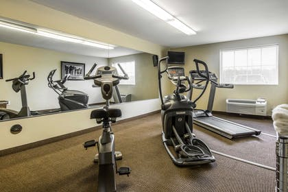 Fitness center | Suburban Extended Stay Hotel Camp Lejeune
