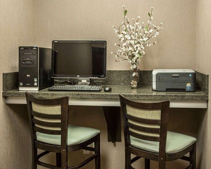 Business center with free wireless Internet access | Comfort Suites Lake Norman - Huntersville